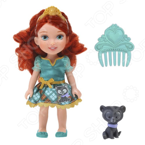 Кукла с питомцем Disney «Малышка Мерида»