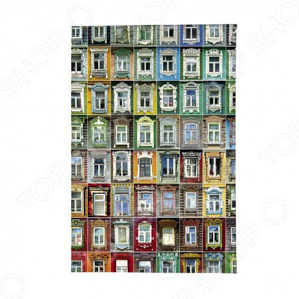 Обложка для автодокументов Mitya Veselkov «Маленькие окна» маленькие разбойники