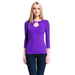 фото Кофта Mondigo 6022. Цвет: фиолетовый. Размер одежды: 46