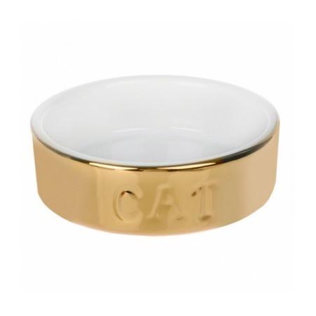 Купить Миска для кошек Beeztees 651462 «Gold Cat»
