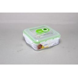 фото Контейнер вакуумный Stahlberg для продуктов. Цвет: зеленый