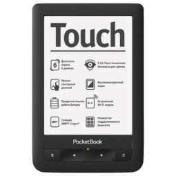 фото Электронная книга PocketBook Touch screen 622. Цвет: черный
