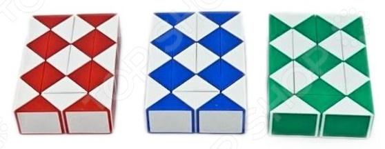 Головоломка Shantou Gepai «Змейка логическая» 086-24. В ассортиментеГоловоломки<br>Товар продается в ассортименте. Вид и состав набора при комплектации заказа зависит от наличия товарного ассортимента на складе. Головоломка Shantou Gepai Змейка логическая 086-24 это замечательная развивающая игра для детей, любящих логические загадки. Игрушка знакома всем с детства, поэтому вам не составит труда рассказать об этой игре своему ребенку. Игра с такой игрушкой расслабляет нервы, развивает координацию движений и логическое мышление.<br>