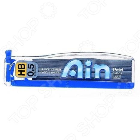 Грифели для механического карандаша Pentel Hi-Polymer Lead C255-HB предназначены для использования с механическими карандашами. Преимущество механического карандаша в том, что его не надо затачивать, корпус, в отличие от деревянного, не поломается. Если грифель закончится, то его всегда можно быстро поменять. Благодаря особой структуре графитной массы грифели обладают повышенной прочностью. В набор входят 40 грифелей длиной 6 см.