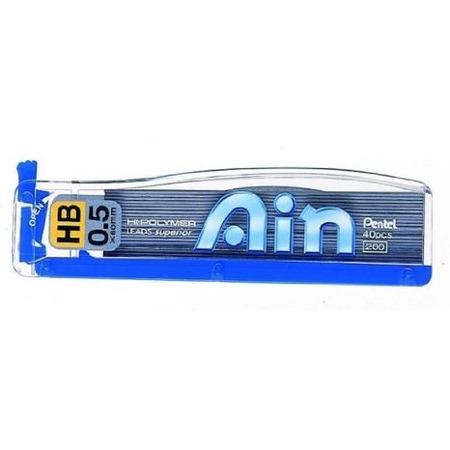 Купить Грифели для механического карандаша Pentel Hi-Polymer Lead C255-HB
