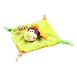 фото Мягкая игрушка развивающая Жирафики «Веселый щенок»