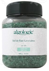Соль для ванн морская Algologie 24501 с ламинариейПены и соли для ванн<br>Соль для ванн морская Algologie 24501 с ламинарией отличное натуральное средство для профессионального ухода за вашей кожей. Морская соль богата наличием полезными микро- и макроэлементов, минералов, которые необходимы для нормального функционирования нашего организма. Они оказывают общеукрепляющее и оздоровительное действие, великолепно снимают симптомы стресса, усталости и раздражительности. Морская соль легко растворяется в горячей воде, поэтому отлично подойдет для водных процедур, пусть то будут полноценные ванные или простые процедуры по уходу за ногами или руками.<br>