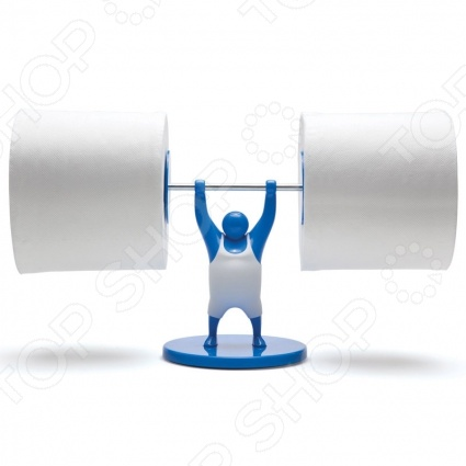 фото Держатель для туалетной бумаги Monkey Business MR. T, Держатели для ванной комнаты и туалета