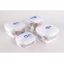 Купить Набор вакуумных контейнеров для продуктов Gipfel ONE TOUCH 4546