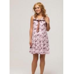Купить Сорочка для беременных Nuova Vita 306.1. Цвет: розовый