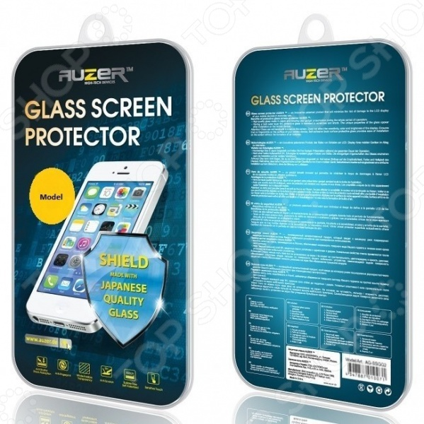 Стекло защитное Auzer AG-LA 526 для Lenovo A526 аксессуар защитное стекло lenovo s60 auzer ag ls60