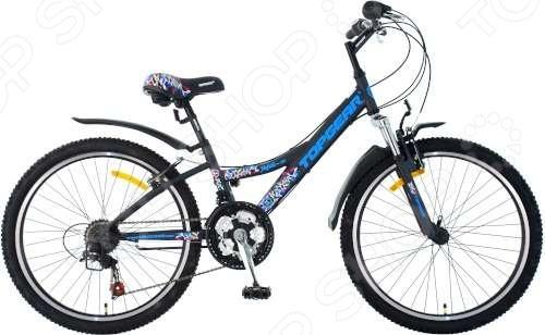 Велосипед детский Top Gear Mystic ВН24087 top gear велосипед 24 mystic 210 18 скоростей черный вн24087