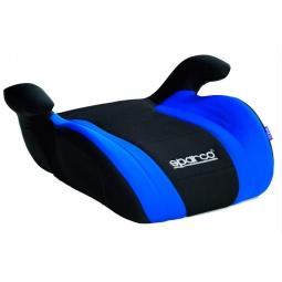 фото Бустер SPARCO F 100 K. Цвет: синий, черный. Возрастная группа: от 3 до 12 лет. Вес ребенка: 15-36 кг