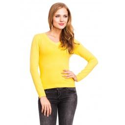 фото Джемпер Mondigo 9131. Цвет: желтый. Размер одежды: 42