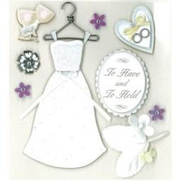 Купить Стикер-украшение K&Company «Классическая свадьба»