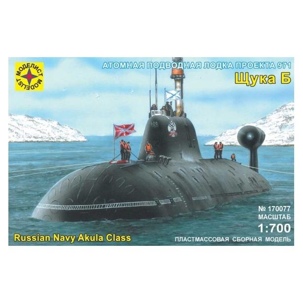 фото Сборная модель подводной лодки Моделист проект 971 «Щука-Б»