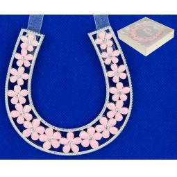 Купить Подкова Elan Gallery «Цветочки розовые»