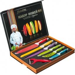 фото Набор ножей подарочный Marmiton 17034