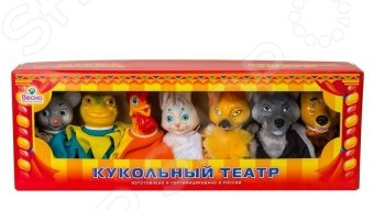 Набор для кукольного театра Весна по сказкам №2 Набор для кукольного театра Весна по сказкам №2 /