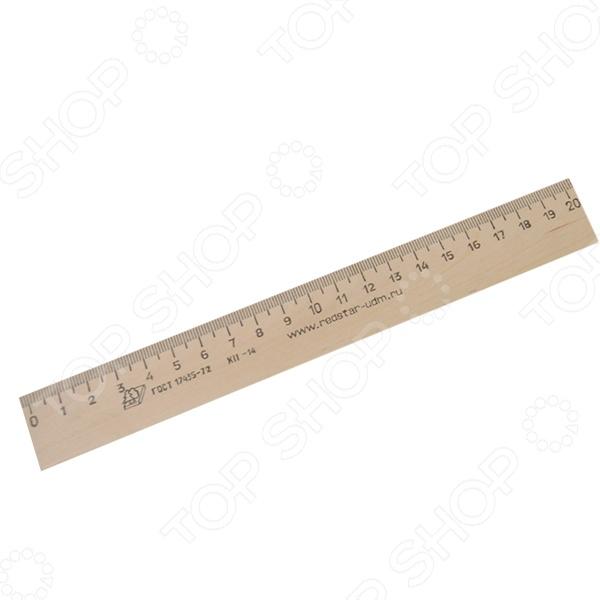 Линейка Красная звезда деревянная - простая и незаменимая канцелярская принадлежность, без которой не обходятся ни на уроках, на на работе. Корпус линейки выполнен из качественной и натуральной древесины, которая не содержит токсичных веществ. Четкие и понятные деления позволят точно проводить все необходимые расчеты и чертежи. Деления не сотрутся со временем, поэтому линейка прослужит вам долгую и качественную службу.