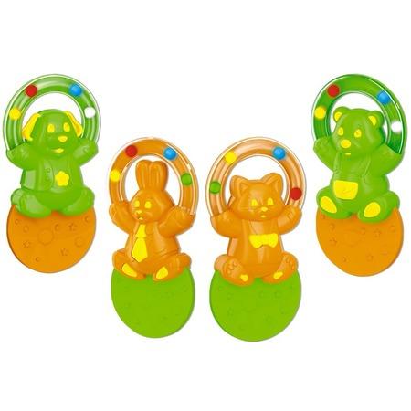 Купить Игрушка-прорезыватель Стеллар «Жонглер» 01576. В ассортименте