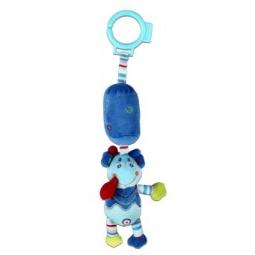 фото Игрушка подвесная Жирафики «Динозаврик с колокольчиком»