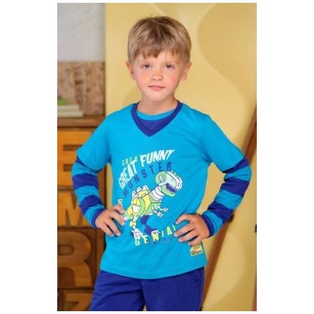 Купить Футболка для мальчиков Detiland AW15-UKN-BTL-018. Цвет: бирюзовый