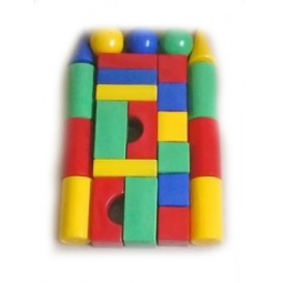 фото Набор кубиков Строим вместе «Строительная стена 25»