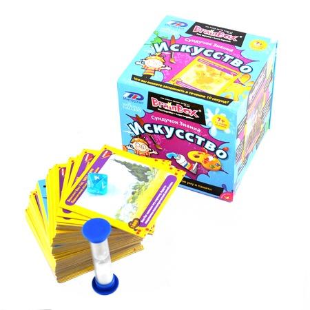 Купить Игра настольная BrainBox «Искусство»