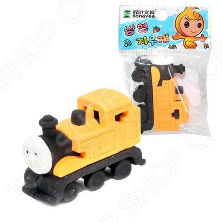 Ластик-игрушка Beifa «Поезд». В ассортименте
