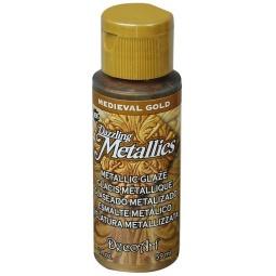 фото Глазурь DecoArt Dazzling Metallics. Цвет: средневековое золото