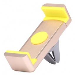 фото Держатель для смартфона на дефлектор COTEetCI Base2 Phone Vent Car Holder. Цвет: золотистый