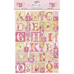 фото Листы с вырубками Tilda Буквы летняя веранда