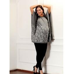 Купить Накидка для беременных Nuova Vita 2201. Цвет: серый