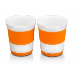 фото Набор стаканов Oursson: 2 предмета. Цвет: оранжевый