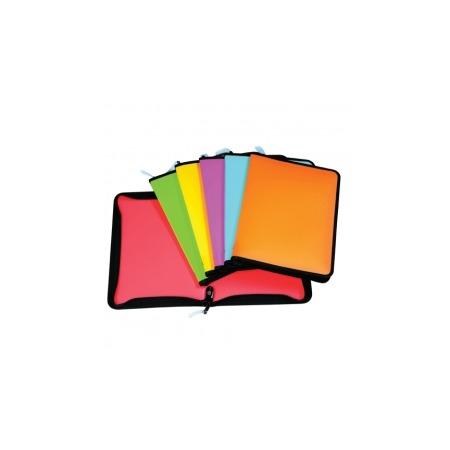 Купить Папка для документов на молнии Erich Krause Neon. В ассортименте