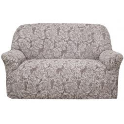 Натяжной чехол на двухместный диван «Виста. Грация»