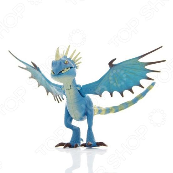 Фигурка Dragons Функциональный дракон. В ассортиментеФигурки супергероев и других персонажей<br>Товар продается в ассортименте. Цвет и вид товара при комплектации заказа зависит от наличия товарного ассортимента на складе. Функциональный дракон, имеющий уникальные возможности, а также подвижные крылья при нажатии на кнопку - это позволяет принимать различные стойки и позы во время игры. Фигурка сделана из высокопрочного пластика. Дополнительно имеет посадочное место для наездника. Особенности:  Гибкие возможности для игры  У каждого уникальные функции  На спине драконов есть седло - можно посадить фигурки викингов  Длина 30-35 см.<br>