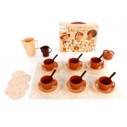 фото Набор посуды игрушечный Росигрушка «Кофейный. Шокко»