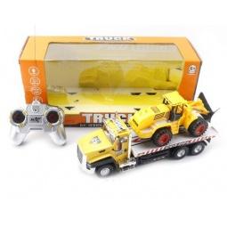 фото Машина на радиоуправлении Shantou Gepai «Трейлер с трактором»