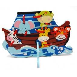 фото Игра развивающая для малыша Mapacha «Шнуровка. Кораблик»