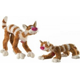 фото Мягкая игрушка Зверюшки «Кот Бекон». В ассортименте