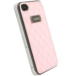 фото Накладка Krusell Coco UnderCover для iPhone 4. Цвет: розовый
