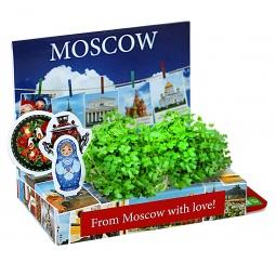 фото Набор подарочный для выращивания Happy Plant «Живая открытка: Москва №2»