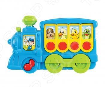 фото Игрушка музыкальная Мир детства «Поезд», Музыкальные игрушки для малышей