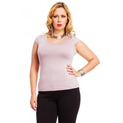 фото Футболка Mondigo XXL 7001. Цвет: розовый. Размер одежды: 58