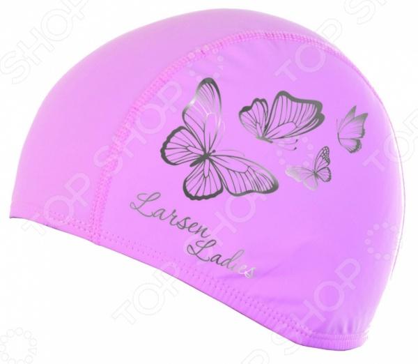 Шапочка для плавания Larsen Butterfly 3059