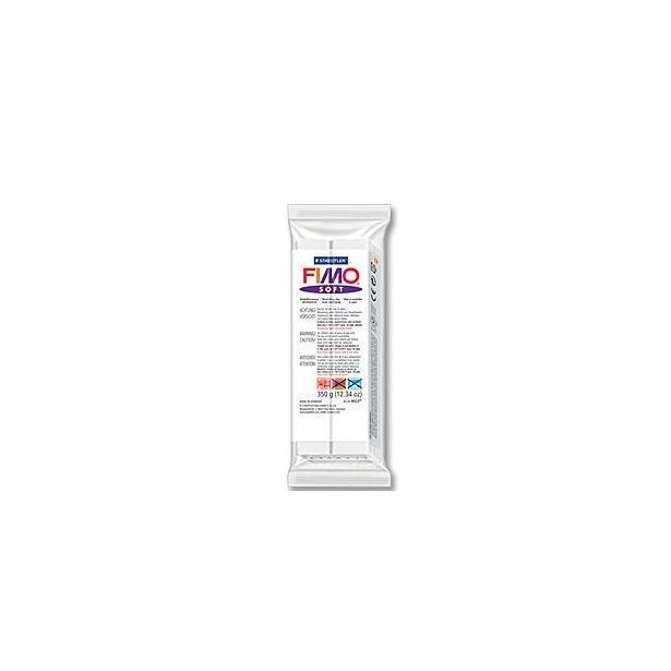 фото Глина полимерная запекаемая Fimo Soft 8022. Цвет: белый