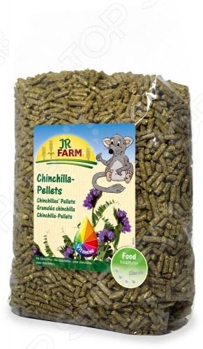 Корм для шиншилл JR Farm Chinchilla PelletsКорм<br>Корм для шиншилл JR Farm Chinchilla Pellets сбалансированный корм, обогащенный клетчаткой и различными питательными веществами для поддержания здорового пищеварения и улучшения общего состояния организма шиншиллы. Необходимо наполнять кормушку смесью только после того, как животное съест предыдущую порцию, чтобы избежать переизбытка микроэлементов. Следует рассчитать порцию таким образом, чтобы животное справилось с ней за 24 часа. Состав: мука из люцерны 40 , пшеничные отруби, ячмень, фуражная пшеница, льняная мука, овес, мука из подсолнечника, рапсовая мука, высушенная патока из сахарной свеклы, корешки солода, патока, льняное масло, лигноцеллюлоза, хлорид натрия, монокальций фофосфат, карбонат натрия. Содержание: протеин 16 , жиры 3,8 , сырая клетчатка 16 , зола 9,2 , кальций 1,25 , фосфор 0,6 , натрий 0,2 .<br>