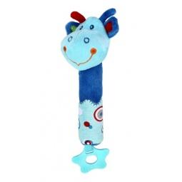 фото Мягкая игрушка развивающая Жирафики 93912 «Динозаврик с пищалкой»